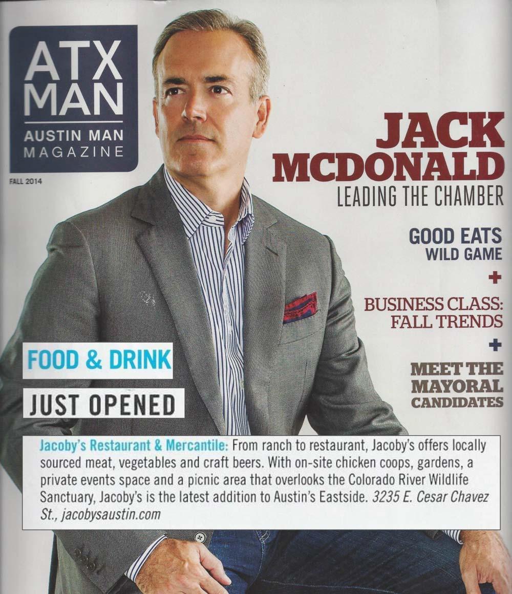 ATX Man | Jacoby's Press | Fall 2014